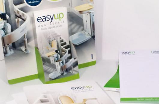 Easy Up Montascale - Espositore da banco e coordianti