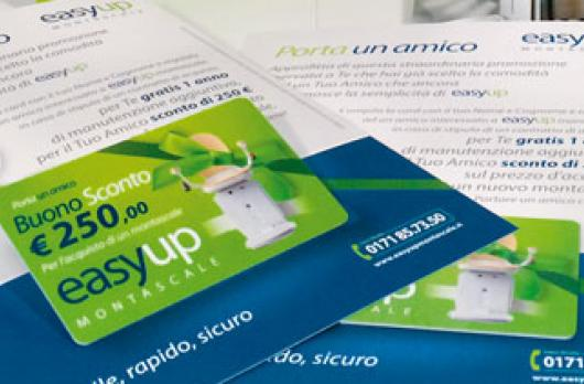 Partners | Easy Up Montascale - Brochure e coordianti aziendali